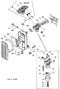 Air Cleaner Carburetor