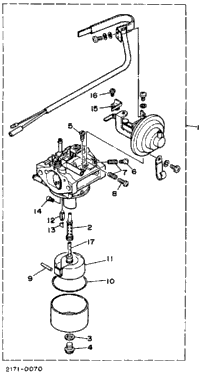 Carburetor 1 (Yg650de)