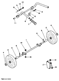 Front Wheel (Optional Parts)