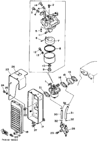 Air Filter-Carburetor