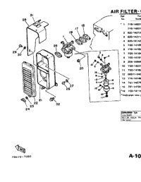 Air Filter - Carburetor