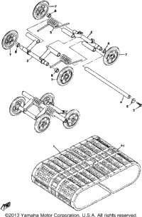 Track And Suspension Wheel