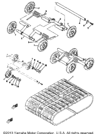 Track Suspension Wheel