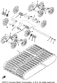 Track-Suspension Wheel