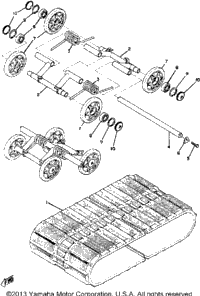 Track Suspension-Wheel