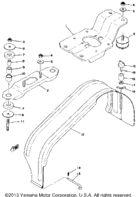 Engine Bracket - Drive Guard