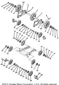 Rear Axle - Wheel