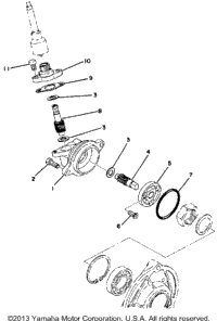 Speedometer Gear Unit