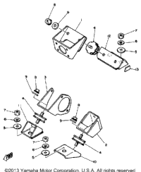 Engine Bracket Ec540d