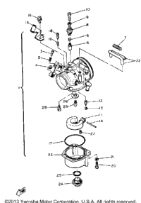 Carburetor Sr540d-E-F