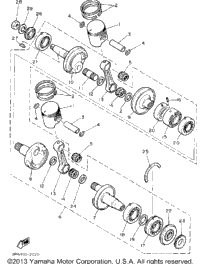 Crankshaft - Piston