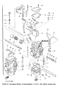 Carburetor 1 Id No 8Ca 01