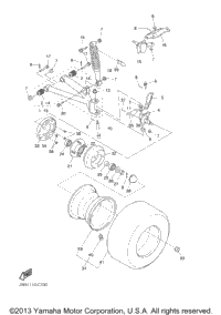 Front Suspension Wheel