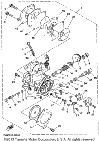 1994 yamaha wave blaster (wb700s) oem parts, babbitts yamaha partshouse blaster engine parts diagram yamaha blaster engine diagram #7